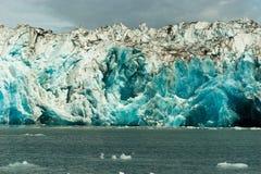 Glacier Ice Kenai Fjords Alaska United States stock photos