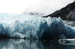 Glacier Ice North Pole Blue White Grey Royalty Free Stock Photography