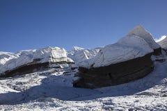 Glacier on ice sheet Stock Image