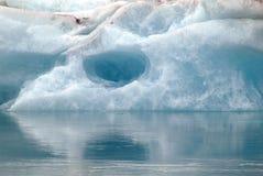 Glacier,Iceland. An icebrg in Jokulsarlon in Iceland Stock Photos