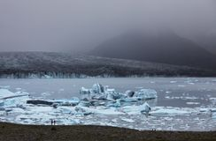 Glacier in Iceland Royalty Free Stock Photo