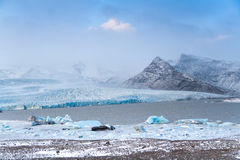 Glacier in Iceland Stock Image