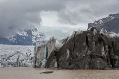 Glacier in Iceland Stock Image