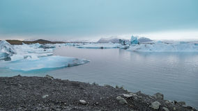 Glacier, Iceland. Royalty Free Stock Image