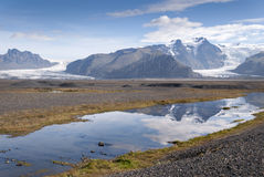 Glacier in Iceland Royalty Free Stock Photography