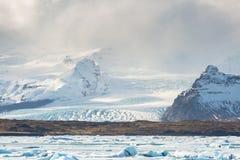 Glacier Islande de Vatnajokull Images stock