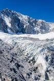 Glacier on Jade dragon snow mountain Royalty Free Stock Photo