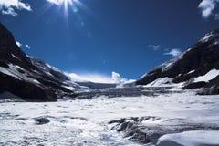 Glacier in Jasper Royalty Free Stock Photo