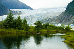 Glacier in Juneau Alaska Stock Photos