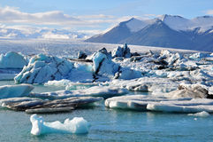 Glacier Lagoon Royalty Free Stock Photos