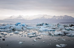 Glacier lagoon Stock Photography