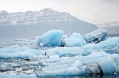 Glacier lagoon royalty free stock photography