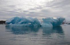 Glacier Lagoon icebergs Royalty Free Stock Images