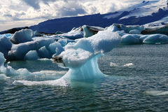 Glacier Lagoon in Iceland Royalty Free Stock Images