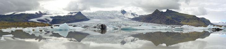 Glacier lagoon in Iceland Stock Photo