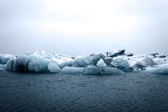 Glacier lagoon in iceland Royalty Free Stock Photo