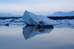 Glacier Lagoon in Iceland Royalty Free Stock Image