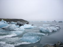 Glacier lagoon, Jokulsarlon, Iceland Stock Photo