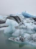 Glacier lagoon, Jokulsarlon, Iceland. Jokulsarlon glacier lagoon in Iceland Stock Photography