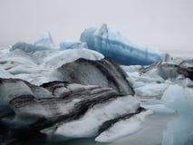 Glacier lagoon, Jokulsarlon, Iceland. Jokulsarlon glacier lagoon in Iceland Royalty Free Stock Photography