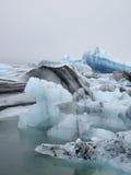 Glacier lagoon, Jokulsarlon, Iceland. Jokulsarlon glacier lagoon in Iceland Stock Photos