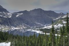 Glacier Lake Royalty Free Stock Photos