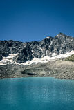 Glacier lake Royalty Free Stock Images