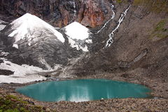 Glacier lake Stock Images