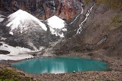 Glacier lake Stock Images