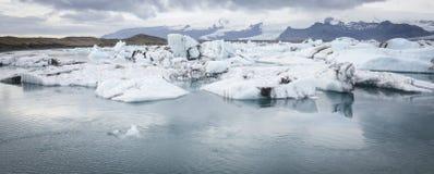 Glacier lake, Iceland Stock Images