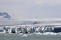 Glacier lake Jokulsarion Royalty Free Stock Photo