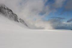 Glacier landscape royalty free stock photos