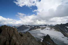 Glacier landscape Stock Photography