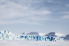 Glacier Landscape Royalty Free Stock Image
