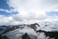 Glacier landscape in alps Royalty Free Stock Image