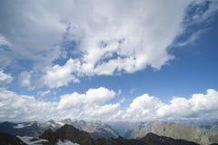 Glacier landscape in alps Stock Image