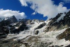 Glacier landscape royalty free stock photography