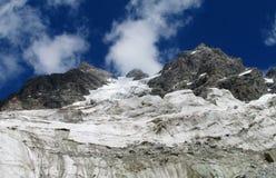 Glacier landscape Royalty Free Stock Photo