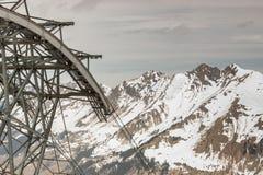 Glacier 3000 - Les Diablerets, Swiss. Royalty Free Stock Image