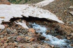 Glacier Melt. In the San Juan mountains in Colorado Royalty Free Stock Photo