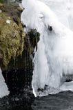 Glacier melting Stock Image