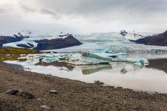 Glacier melting, Iceland Royalty Free Stock Photography