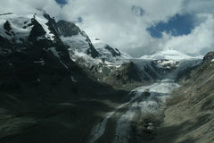 Glacier melting in the summer Royalty Free Stock Photography