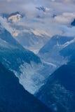 Glacier Mer de Glace, Frankreich Lizenzfreies Stockbild