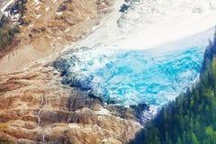 Glacier on Mont Blanc, Alps Stock Images