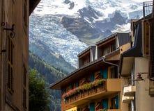 Glacier, Mont Blanc Stock Image