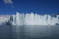 Glacier Moreno en Argentine - l'UNESCO Photographie stock libre de droits