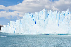 Glacier Moreno in Terra del Fuego ,Argentina Royalty Free Stock Photo