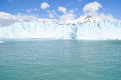Glacier Moreno in Terra del Fuego Argentina Royalty Free Stock Photography