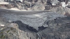 Glacier. Mount Rainie National Park, Washington stock video footage